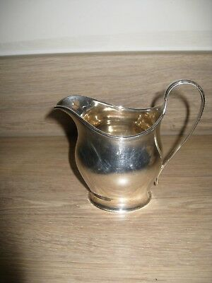 Antique Solid Silver Cream Jug - Sheffield 1913, by Wilson & Sharp,  - 117grams