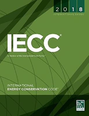 2018 International Energy Conservation Code Original Brand New