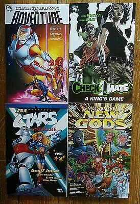 x4 DC TPB - Checkmate - New Gods - JSA - Countdown to Adventure