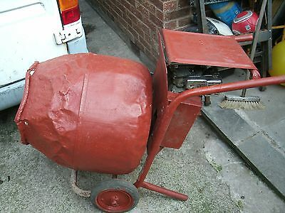 Belle Mini Mix Cement Mixer Honda G100 2.2 Hp Petrol Sheffield 13 Area Collect