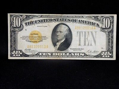 1928 $10 Gold Certificate FR# 2400   East Coin & Collectables, Inc.