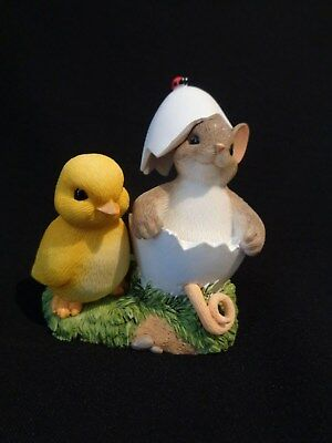 Charming Tails You're One Of A Kind Easter Enesco 4043855  NIB