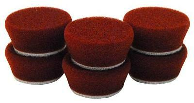 "1"" Uro-Tec™Maroon Medium Cut/Heavy Polishing Foam Pad 172BN"