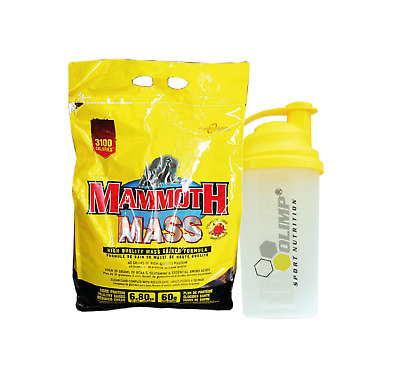 Interactive Nutrition Mammoth Mass 2.27kg Serious Weight Gain Strawberry