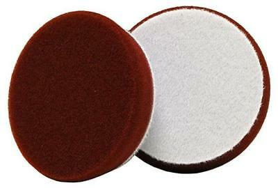 "3"" Uro-Tec™Maroon Medium Cut/Heavy Polishing Foam Pad 372BN"