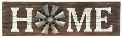 Country Farmhouse Home Windmill Sign Rustic Decor