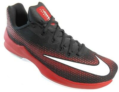 newest collection d32b5 53988 NIKE AIR MAX INFURIATE LOW MEN S BLACK RED BASKETBALL SHOES sz 11.5,  852457
