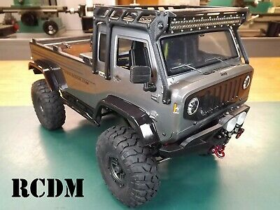 """RCDM Roll Cage / Roof Rack For The Axial Jeep """"Mighty"""" FC Crawler Body / SCX10"""