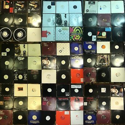 Huge DJ Lot of 135 HIP HOP RAP vinyl records singles Snoop Dre Jay-Z Notorious