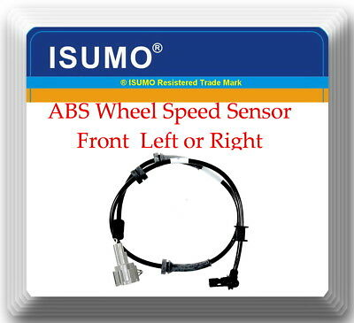 1 Kit ABS Wheel Speed Sensor Front Left or Right For:Q56 Armada Pathfinder Titan
