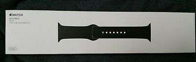 Apple Watch Sport Band Black Color 42mm Genuine from Apple Brand New