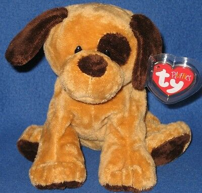 TY BARKERS the DOG PLUFFIES -  MINT with MINT TAGS