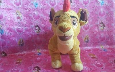 Disney Store Lion King Guard Simba's Son Kion Plush Stuffed Animal Toy Soft 13""