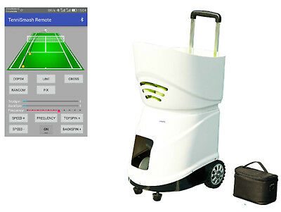 Easyday Sports Portable Automatic Battery Tennis Ball Machine Robot for Training