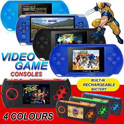 2018 16 Bit Portable Video Handheld Game Console Retro Megadrive Pvp Pxp 32 Bit