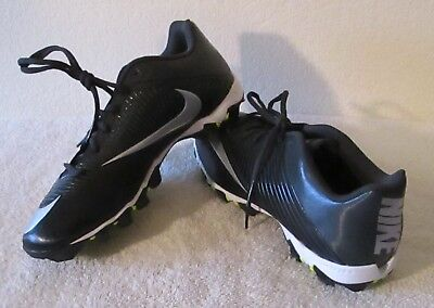 e5f80d20470 NEW Nike Vapor Shark 2 Mens Football Cleats 11 Black Anthracite Silver  MSRP 42
