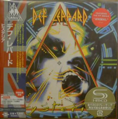 "DEF LEPPARD""HYSTERIA""CD UICY-93453  JAPAN with OBI SEALED"
