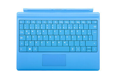 Microsoft Surface Type Cover 3 cyan (German) A7Z-00031 Excellent condition