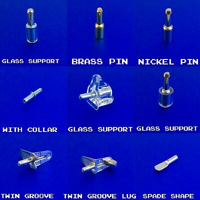Shelf Supports Metal Pins Pegs Studs In 3Mm Hole For Kitchen Cabinet Cupboard
