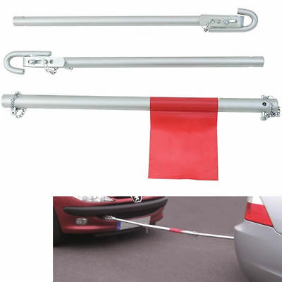 1.8 Ton Tow Towing Metal Pole Vehicle Recovery Breakdown Rigid Car Van 4x4 3pc
