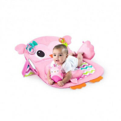 BRIGHT STARTS Tapis d`Eveil Tummy Time Prop & Play? Pink