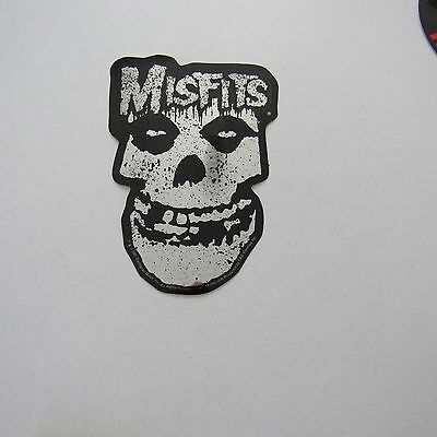 New punk misfits crimson ghost 3 x 5 inch chrome sticker free same day shipping