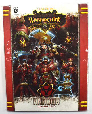 Forces of Warmachine Khador Command Softcover PIP 1082