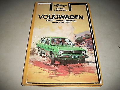 Clymer Publications Repair Manual Vw Dasher Series 1974 Very Clean Cmystor$More