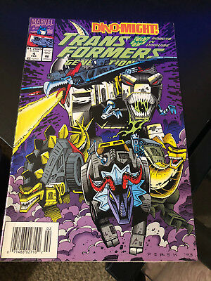 Transformers Generation 2 #4: Marvel Comics 1993 Very Good Condition