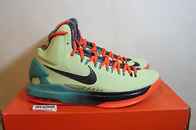 cheap for discount 94789 4aacd Nike Air Zoom Max Kd V 5 All Star Area 72 As Green Orange Size 9