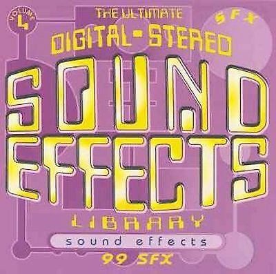 SOUND EFFECTS - Cartoon Sound Effects (CD Used Like New