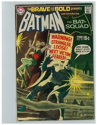 Brave And The Bold # 92 - November 1970 - Bronze Age Bargain Box - Free Shipping