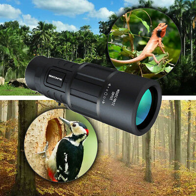 2018 New 10 x 40 Monocular Telescope 40mm Caliber For Camping fishing CY9