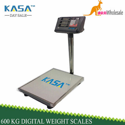 Super Markets 600 Kg Electronic Digital Weight Price Computing Platform Scales