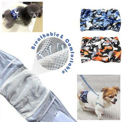 Dog Diapers Reusable Washable Belly Band Waterproof For Male Dogs Small XL Large