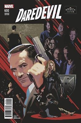 Daredevil 600 Daniel Acuna Agents Of Shield Road To 100 Variant Nm Pre-Sale 3/28