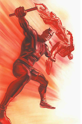 Daredevil 600 Alex Ross 1:50 Incentive Variant Nm Pre-Sale 3/28
