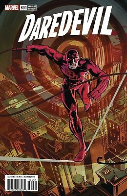 Daredevil 600 Frank Miller 1:500 Remastered Color Variant Nm Pre-Sale 3/28