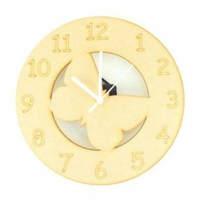 Children-Wooden-Butterfly-Themed-Clock-Toddlers-Child-Nursery-Furniture
