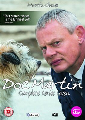 Doc Martin (Complete Series 7) NEW PAL Cult 2-DVD Set Martin Clunes Ian McNeice