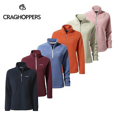 Craghoppers Womens Moira Half Zip Soft Cuddle Fleece Pullover Insulated Top