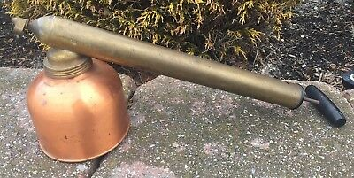 Vintage Brass & Copper G.B. Smith & Co. Blizzard Continuous Sprayer