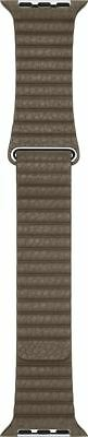 Apple Watch Strap 42MM Light Brown Leather Loop Large - New