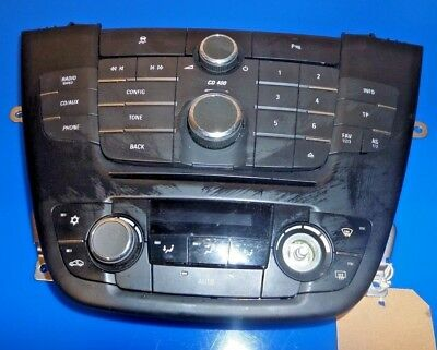 Vauxhall Insignia Heater Climate Control Unit 2012 Model Free P&p