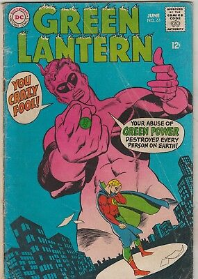 *** Dc Comics Green Lantern #61 Golden Age Green Lantern G ***