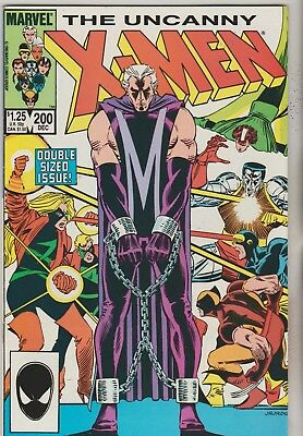 *** Marvel Comics Uncanny X-Men #200 Giant Sized Anniversary Issue F+ ***