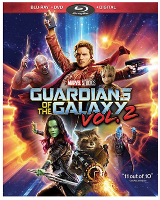 Guardians of the Galaxy Vol. 2 (Blu-ray + DVD + Digital HD)