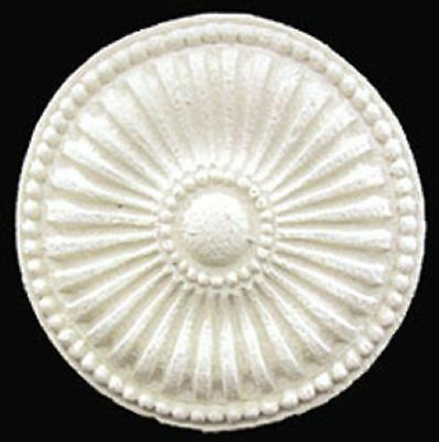 Dollhouse Miniature Round Ceiling Medallion Embellishment by Unique Miniatures
