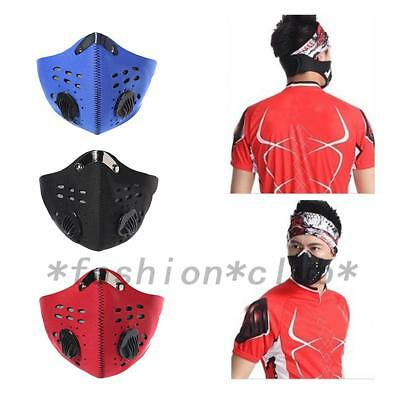Anti-Dust Respirator Dust Mask For Outdoor Cyclist Active Carbon Reusable