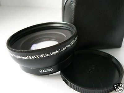 BK 58mm 0.45X Wide-Angle Lens For Fujifilm Fuji XT2 XT1 XT20 XT10 XE2s w/18-55mm